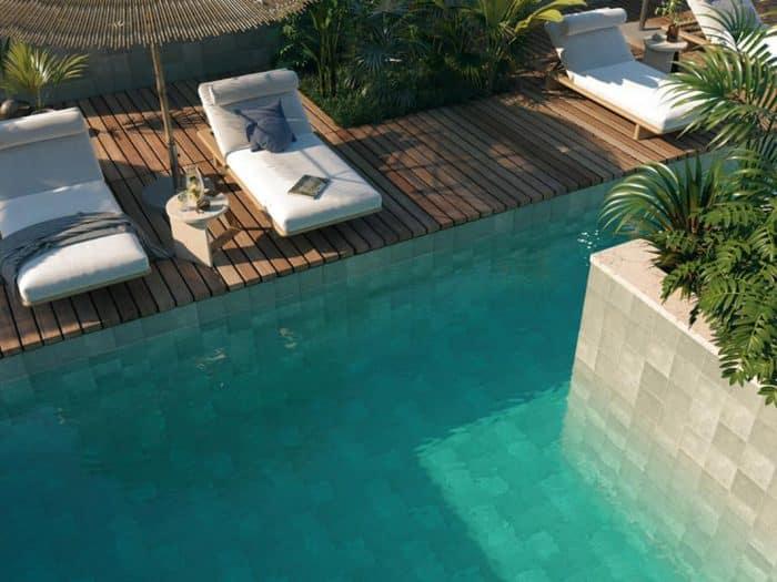 Le carrelage balinais pour une piscine esthétique et économique